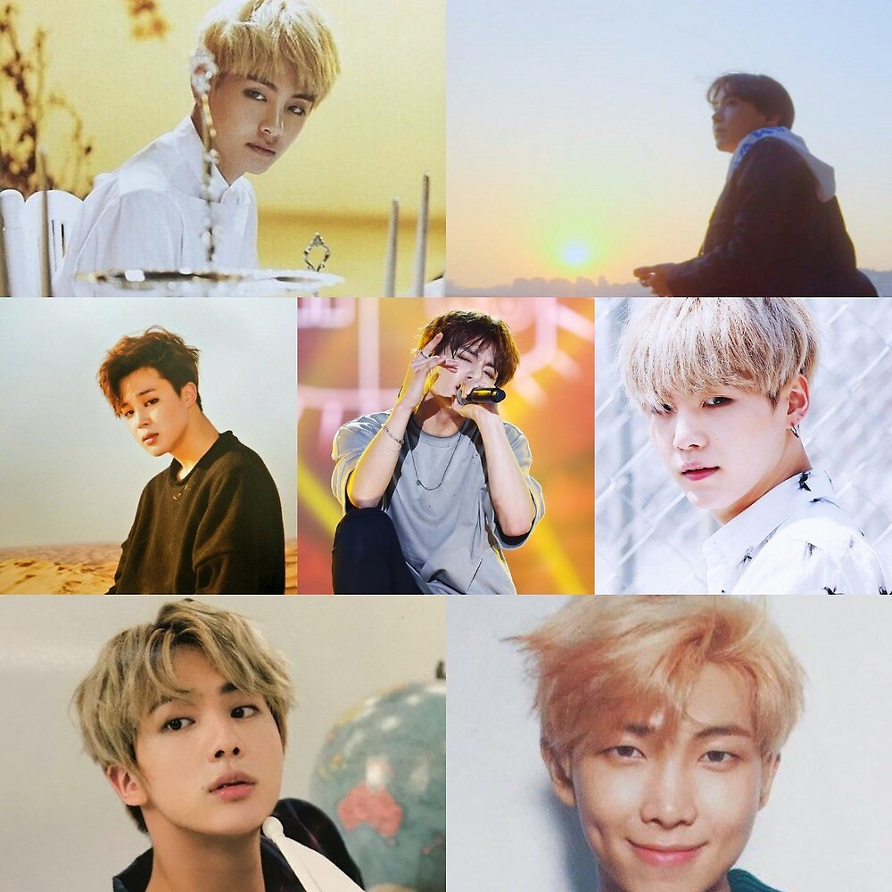 BTS collage by No Jams