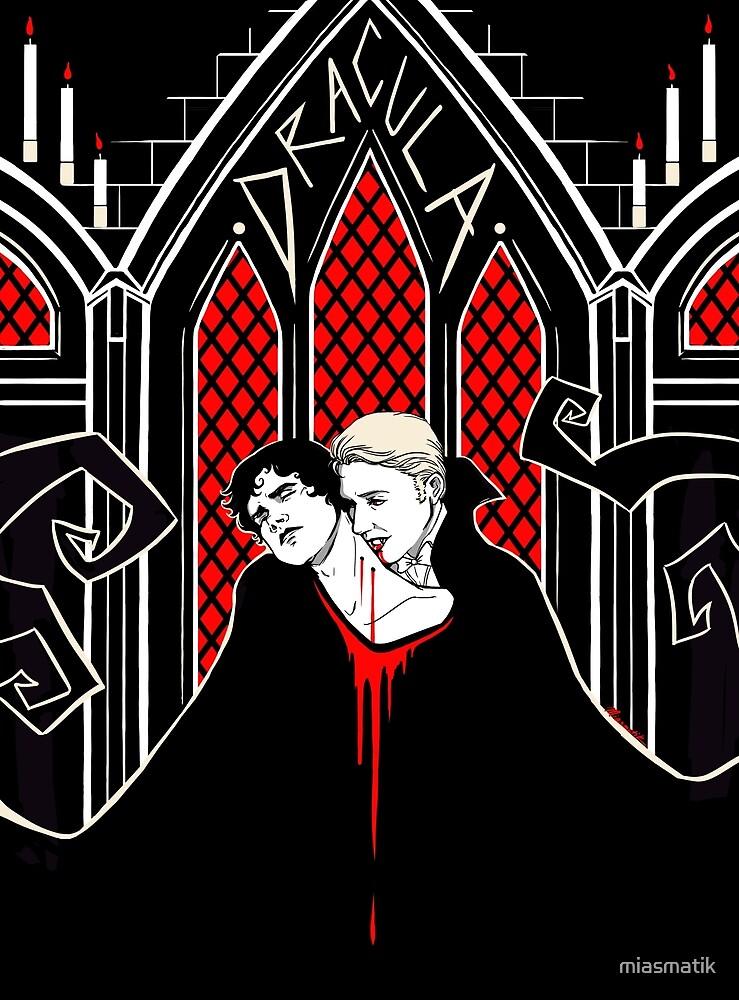 Hannibal x Dracula AU by miasmatik