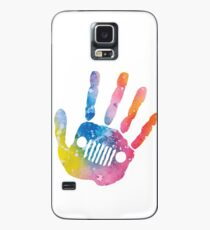 Tropical Jeep Wave Case/Skin for Samsung Galaxy