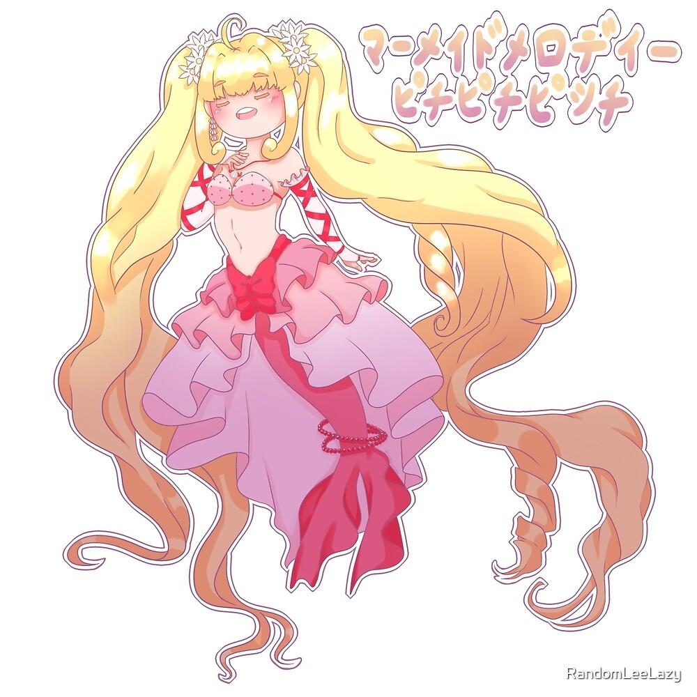 Mermaid Melody Luchia by RandomLeeLazy