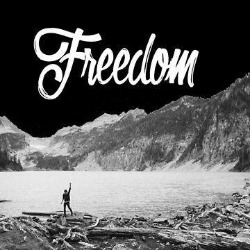 "Unisex ""Freedom"" T-Shirt by vincejimenez"