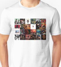 90er Jahre Hip Hop Slim Fit T-Shirt