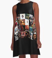 90's Hip Hop A-Line Dress