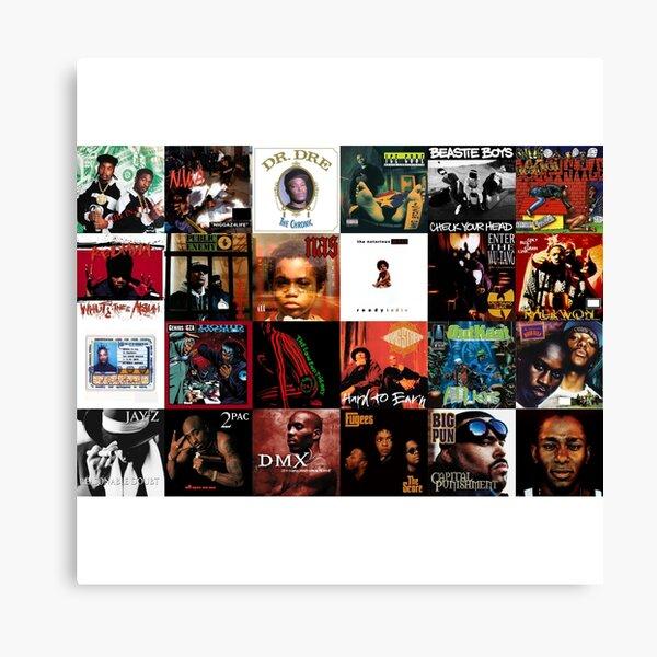 Hip Hop des années 90 Impression sur toile