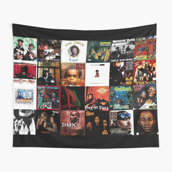 90's Hip Hop Tapestry