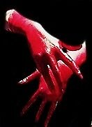 Bloody hands by luusyfer