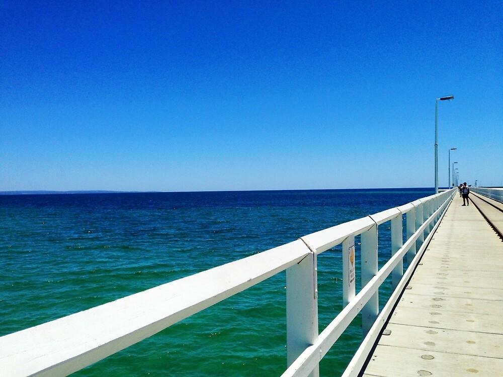 Pier into the Horizon by clin10