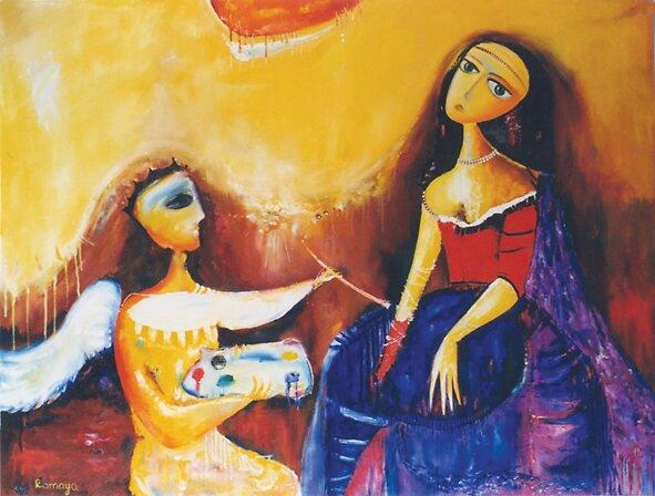 Women&Jerusalem by Romaya