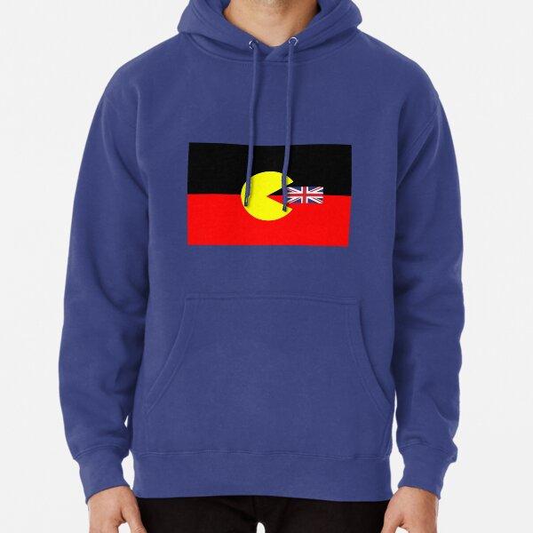 Bandera aborigen australiana Sudadera con capucha