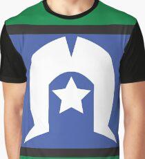 Torres Strait Islander Flag Graphic T-Shirt