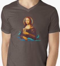 Thirstier Lisa Men's V-Neck T-Shirt