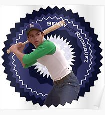 """Benny """"The Jet"""" Rodriguez Poster"""