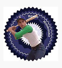 "Benny ""The Jet"" Rodriguez Photographic Print"