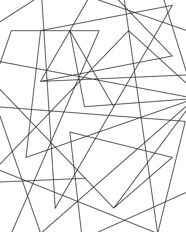 Geometric Line Drawing Artists : Simple geometric line art pixshark images
