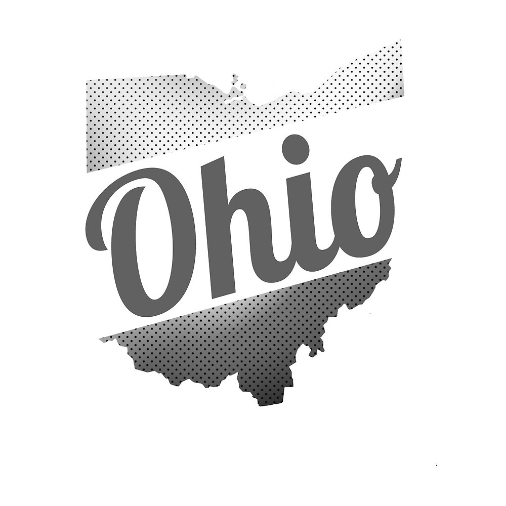 Dotted Ohio Logo by idillard6