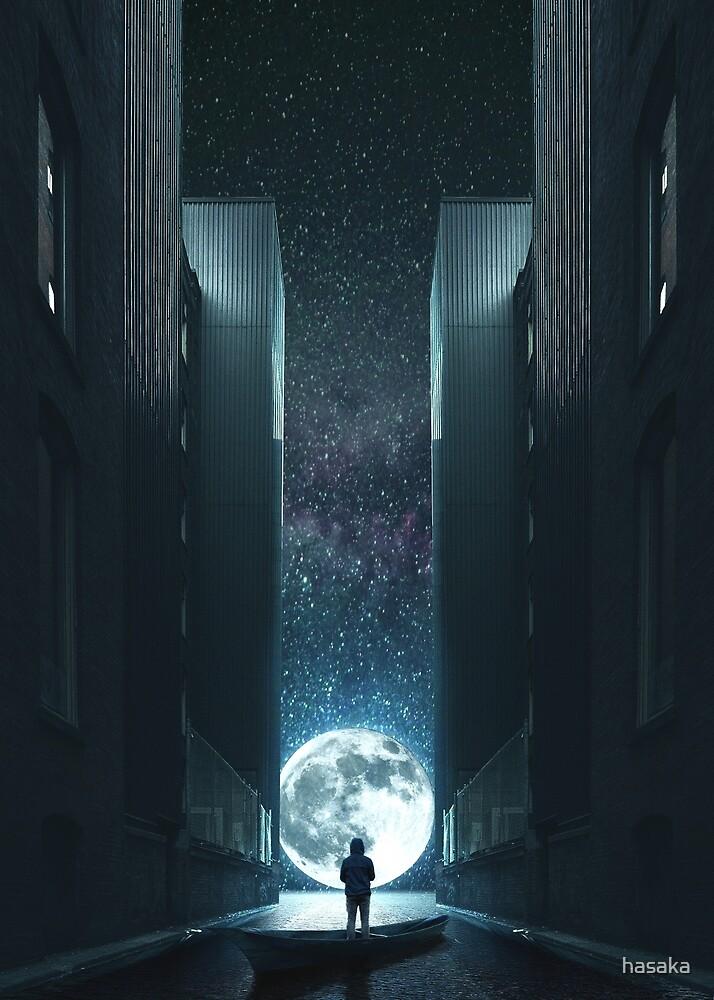 Moon Rise by hasaka