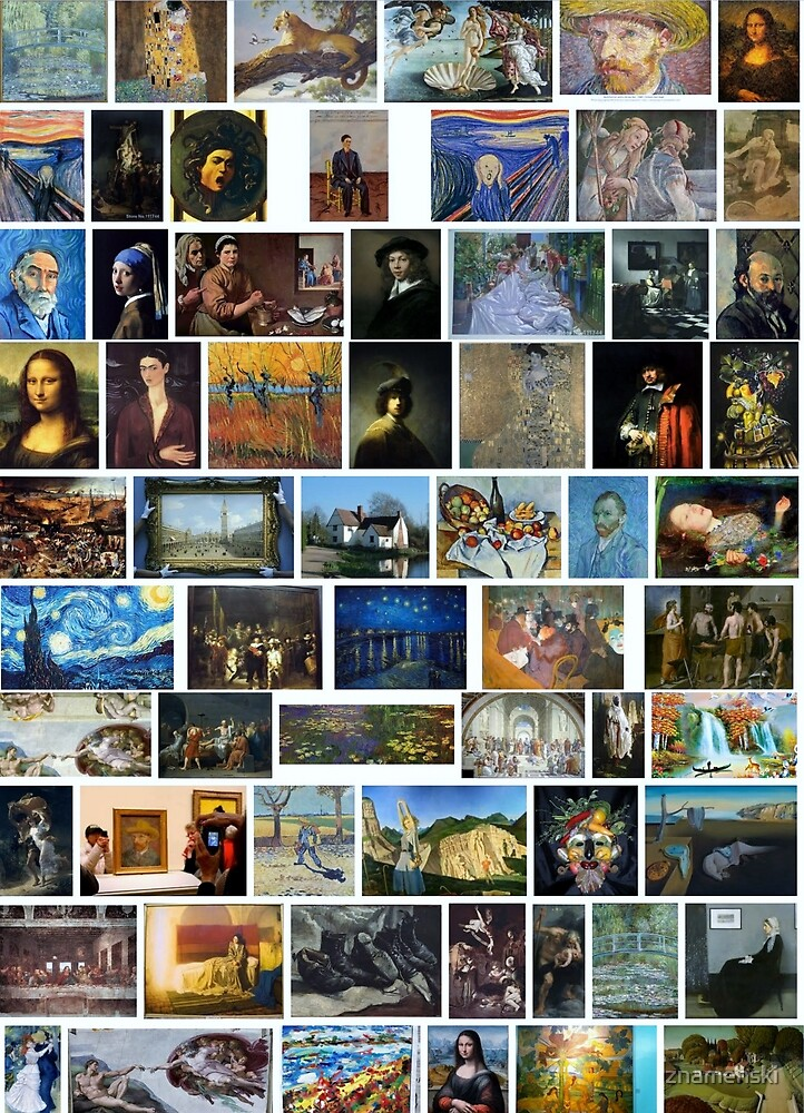 Most Famous Paintings by znamenski