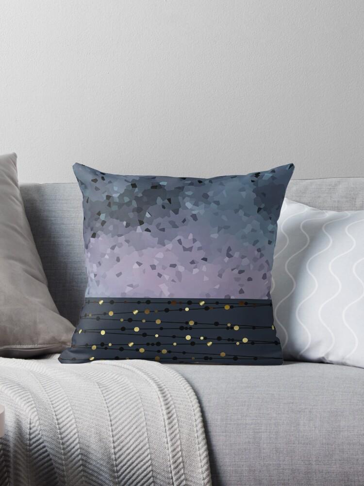 Pink-grey ,blue combo pattern .  by fuzzyfox