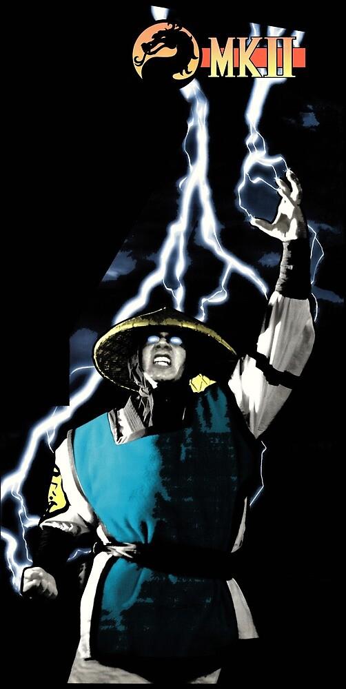 Mortal kombat 2- Klassic Raiden by Thinklikethem