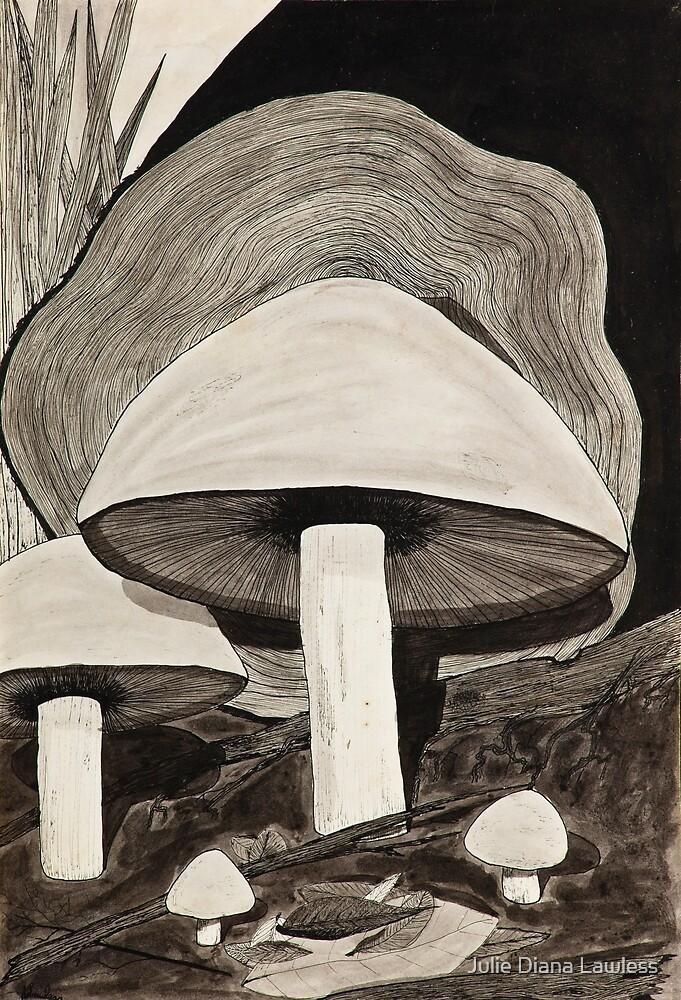 Mushrooms by Julie Diana Lawless