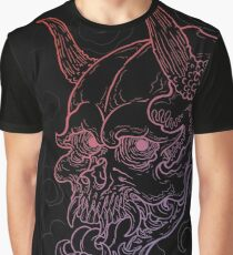 Demon Skull Graphic T-Shirt