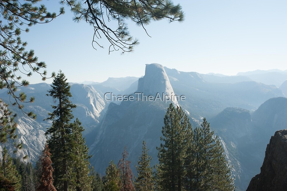 Half Dome from Glacier Point  by ChaseTheAlpine