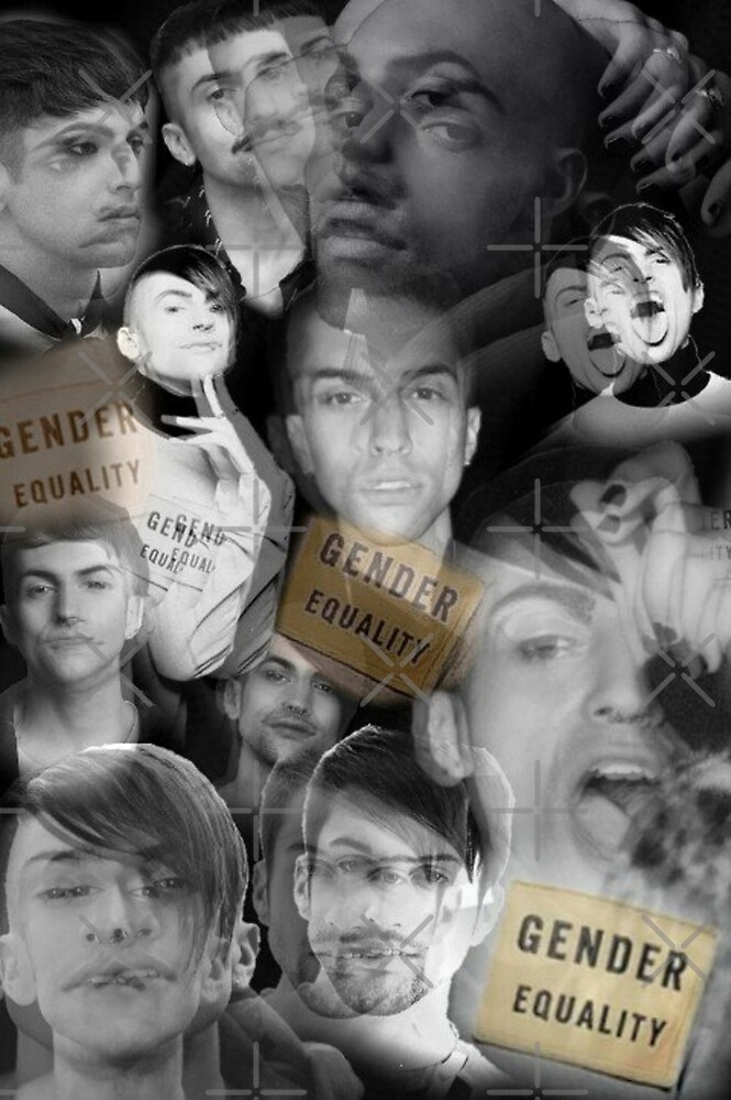 Mitch Grassi - Gender Equality  by RetroFangirl