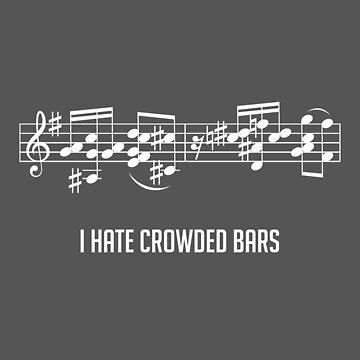 I Hate Crowded Bars by ravi0301
