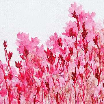 pink blossoms by Redsonya888