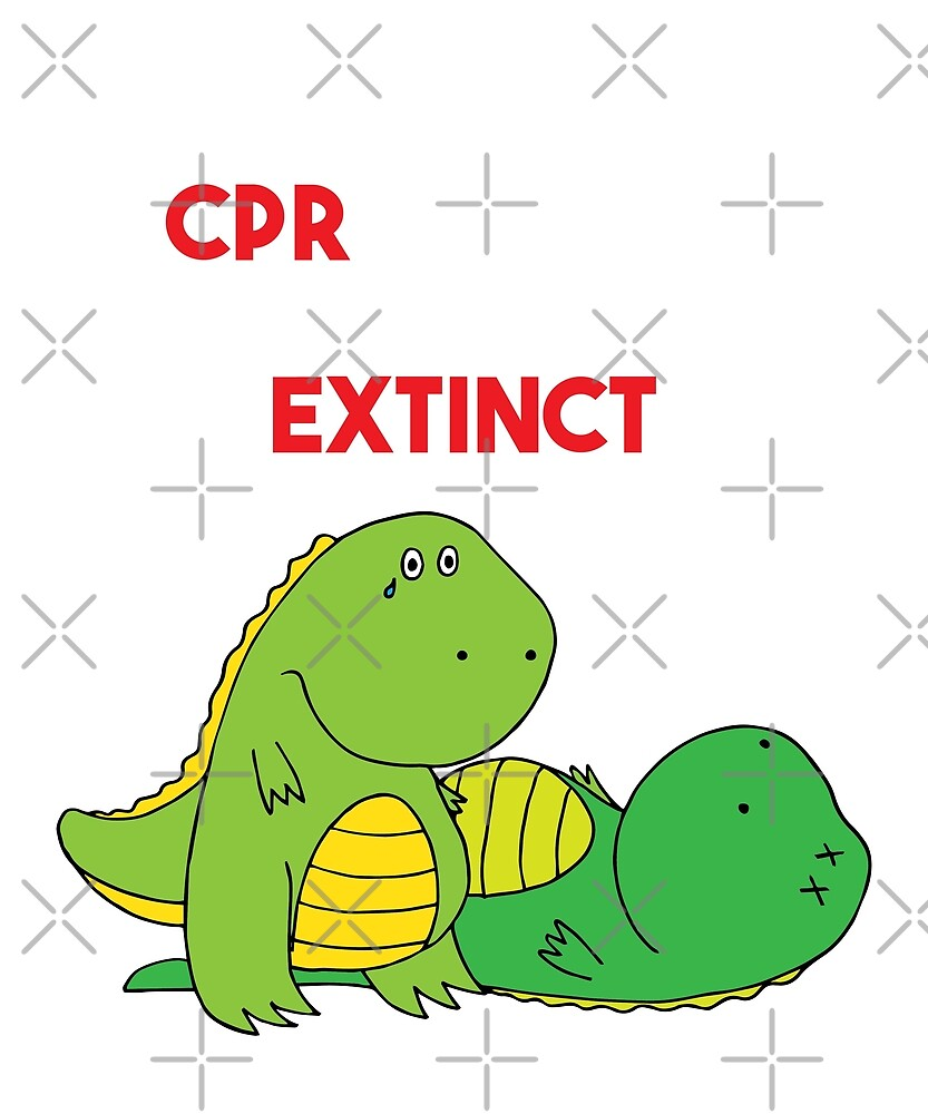 T-Rex Hates CPR That's Why Dinosaurs are extinct  by fatamyfan1