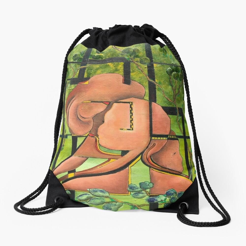 Enchanted Forest Drawstring Bag