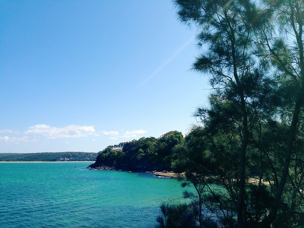 Clear Blue Water of Sydney by clin10