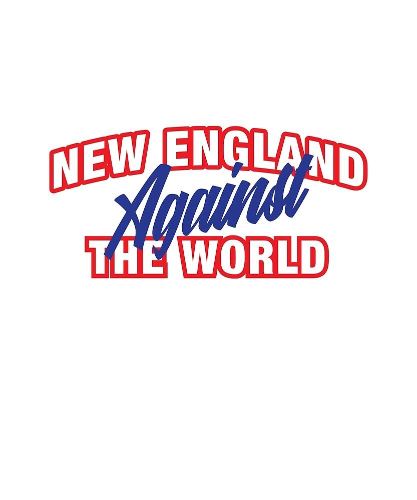 New England Against The World Shirt by teeshirtmaniac