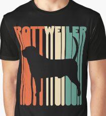 Vintage Rottweiler T-Shirt Retro Rottweiler Gift Graphic T-Shirt