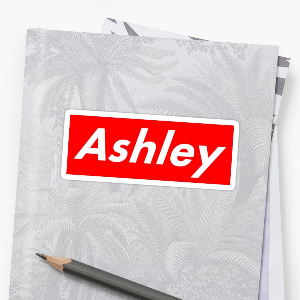 Ashley Supreme Logo by alyssashawol