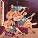 Jazz Trio by Giselle Luske