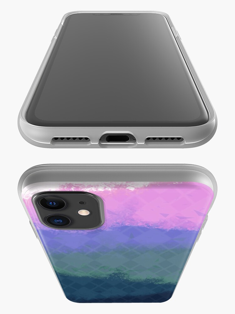Alternate view of Pigment [COLD] iPhone Case & Cover