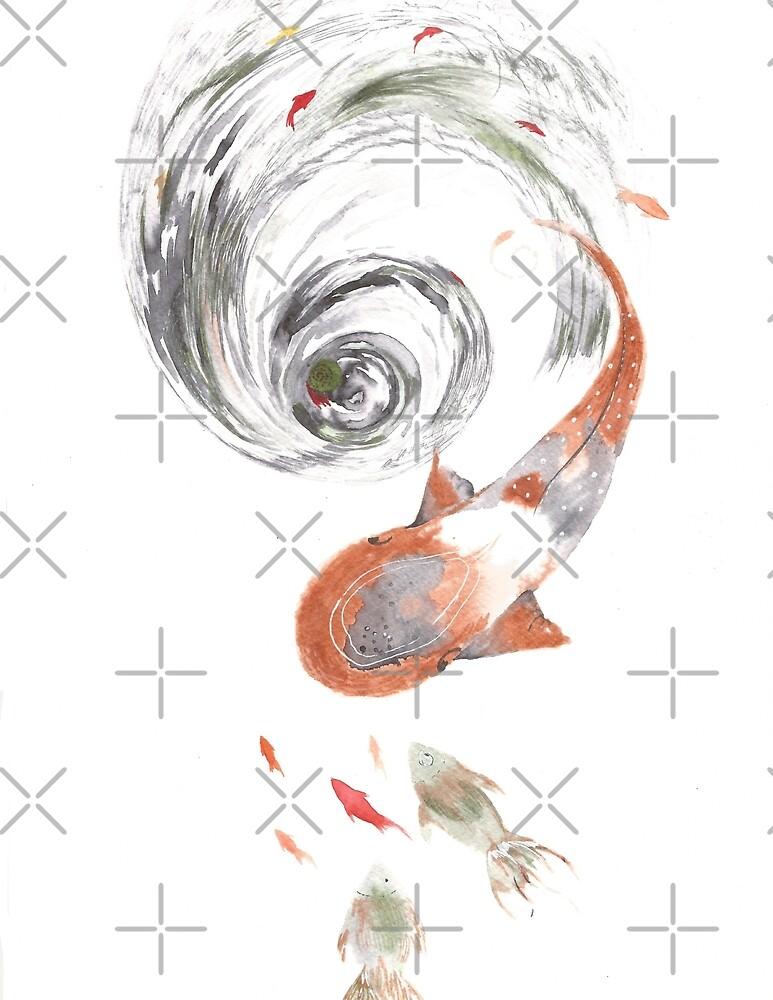 The Koi Swirl  by Salikavirji2181