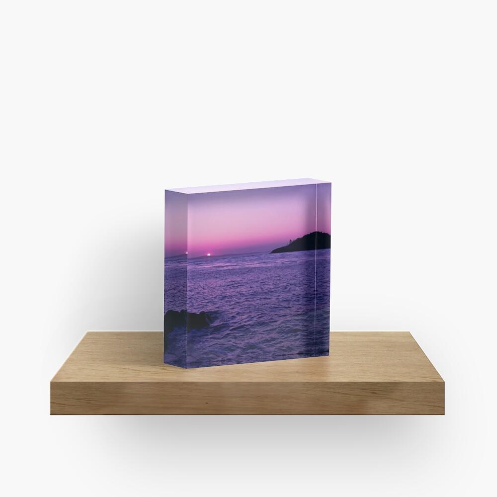 Set of Nine Acrylic Block