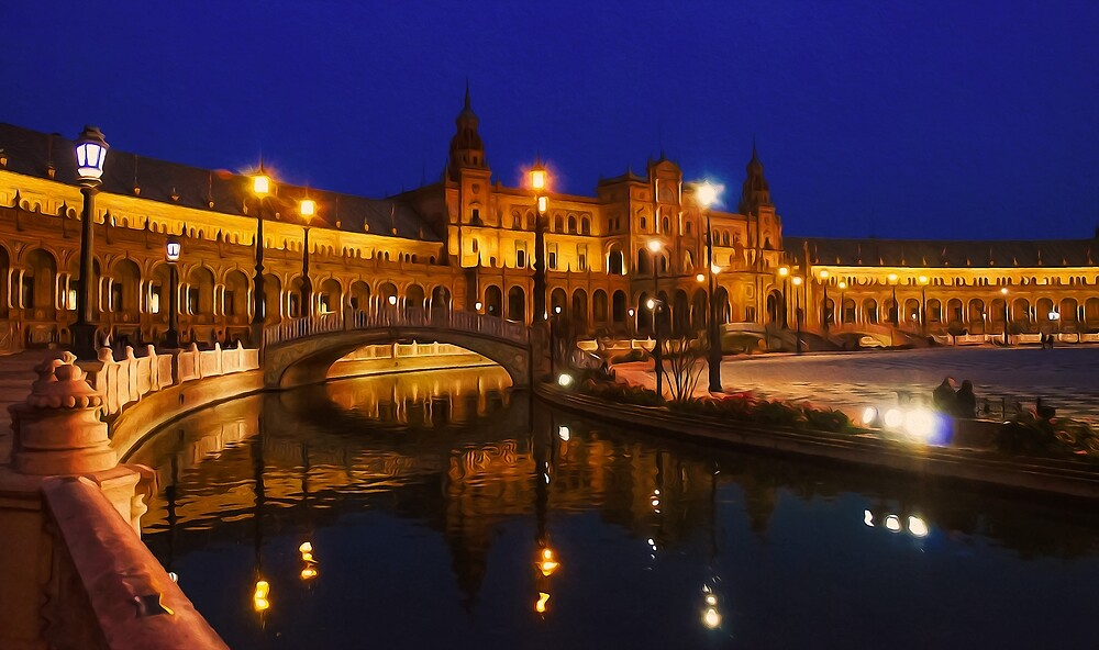 Seville, Magical lights by Andrea Mazzocchetti