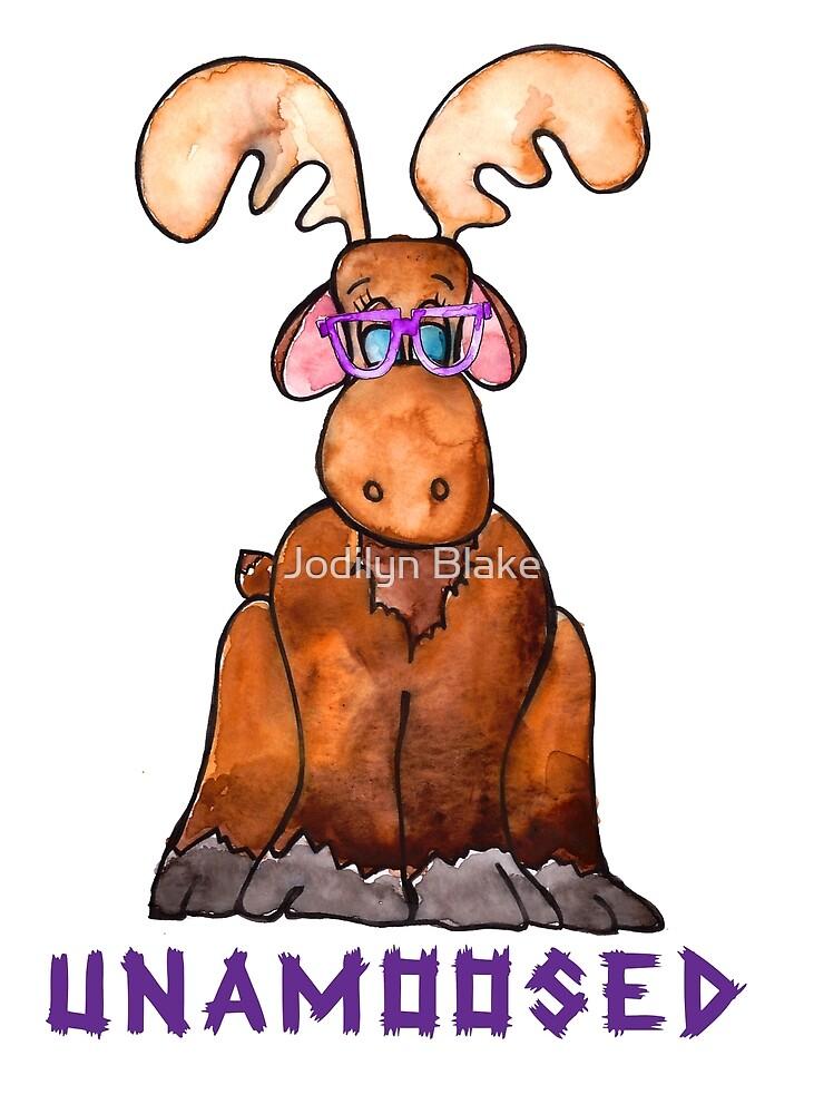 Moose - Unamoosed by DaisyDoodler