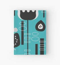 Fruity mid-century decor Hardcover Journal