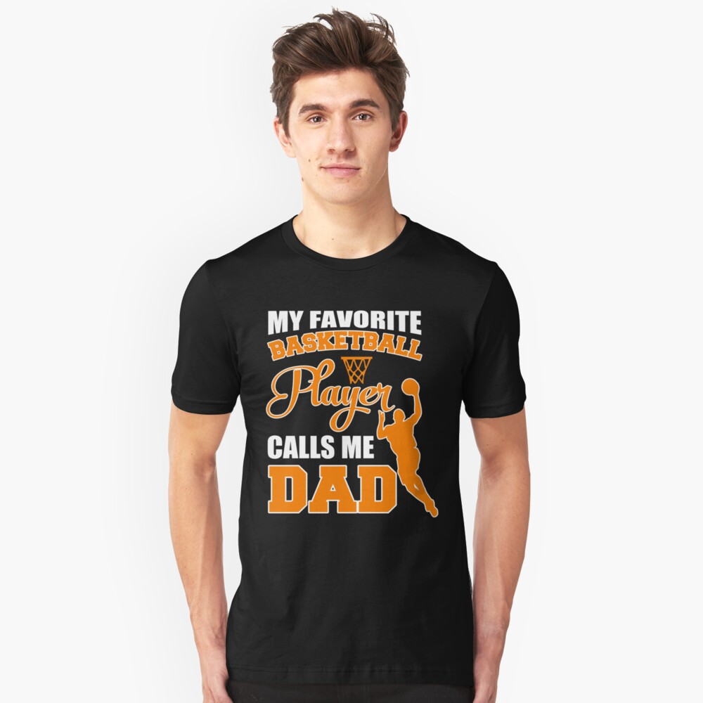 2ac6139ed Cool Costume For Dad. T-Shirt Ideas From Basketball Son.