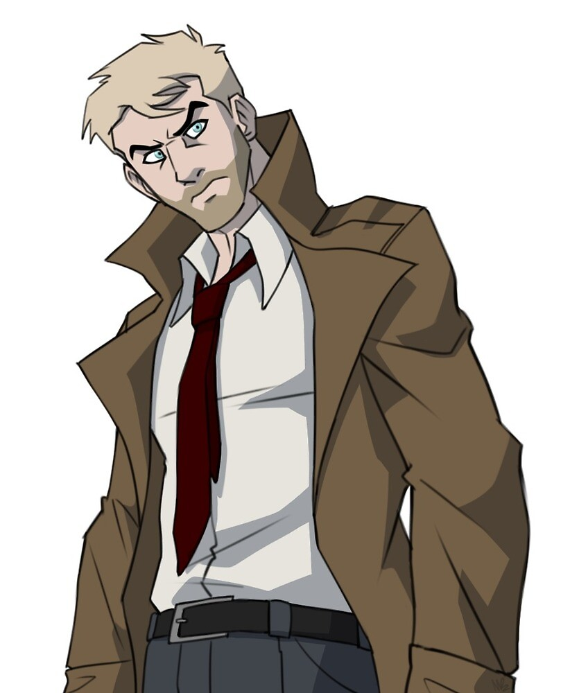 Constantine by cartoonjunkie