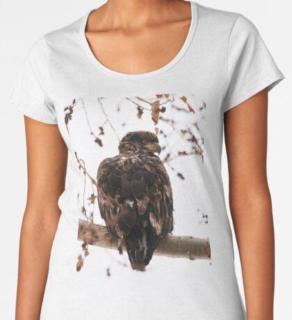 Looking Over My Shoulder Women's Premium T-Shirt
