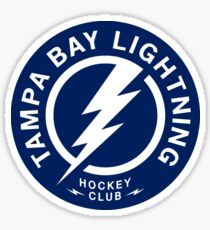 Tampa Bay Lightning HC Sticker