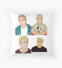 Bobby Lockwood x4 Throw Pillow