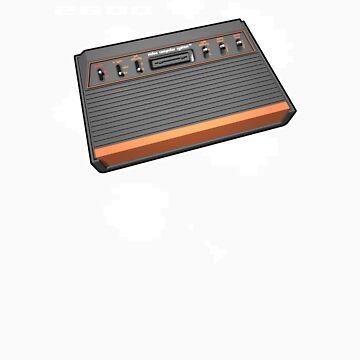 Atari 2600 Asteroids by panaromic