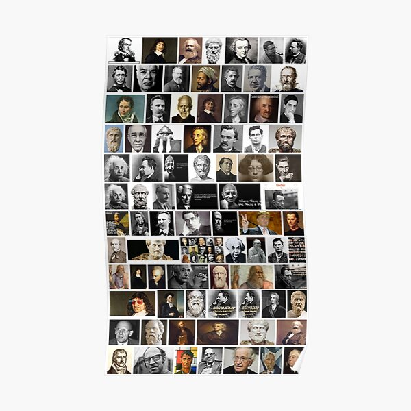 Print, Famous philosophers, #Famous, #philosophers, #FamousPhilosophers, #Philosophy, #philosopher, #FamousPhilosopher Poster