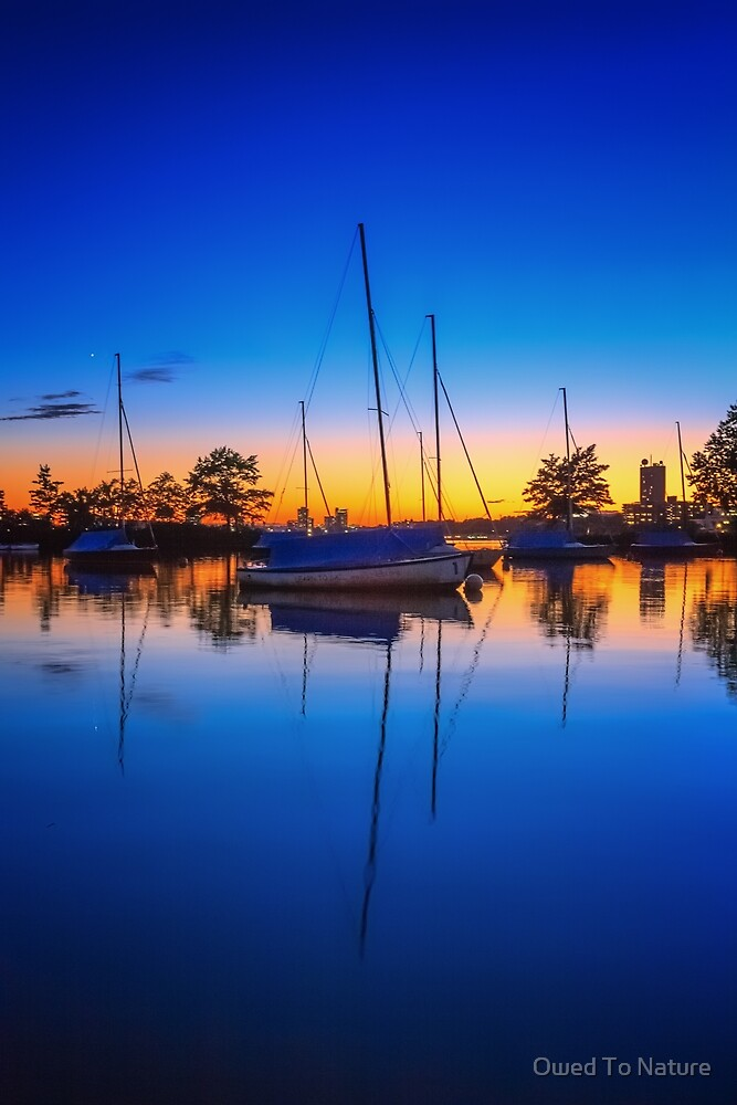 Blue Sails in the Sunset by Owed To Nature